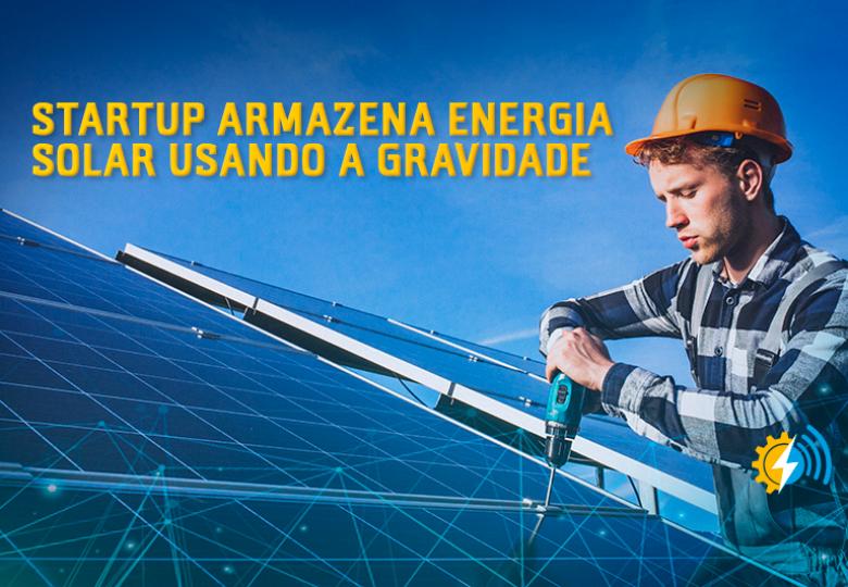 Startup armazena energia eólica e solar usando a gravidade
