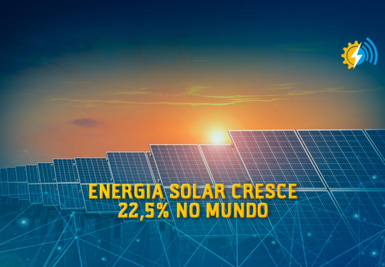 Energia solar cresce 22,5% no mundo com mais de 115 gigawatts instalados no último ano